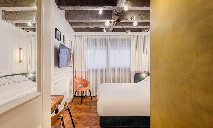 6 חופשה זוגית עם עיסוי במלון הבוטיק BoBo מרשת בראון, תל אביב