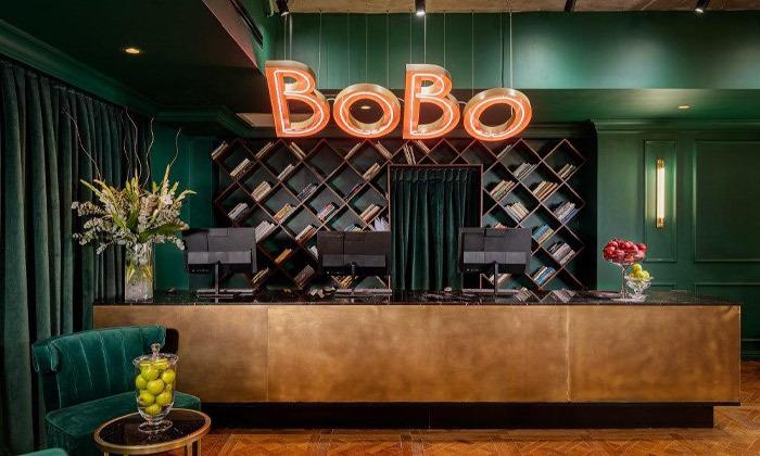 2 חופשה זוגית עם עיסוי במלון הבוטיק BoBo מרשת בראון, תל אביב