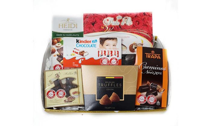 2 מארז שוקולדים כשרים באריזת מתנה - איסוף מסניפי טסה ברחבי הארץ
