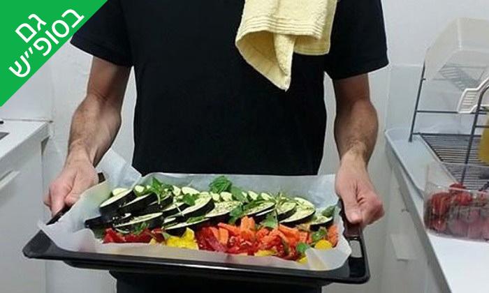 4 ארוחת שף פרטית עם 'מבשלים באהבה' אצלכם בבית