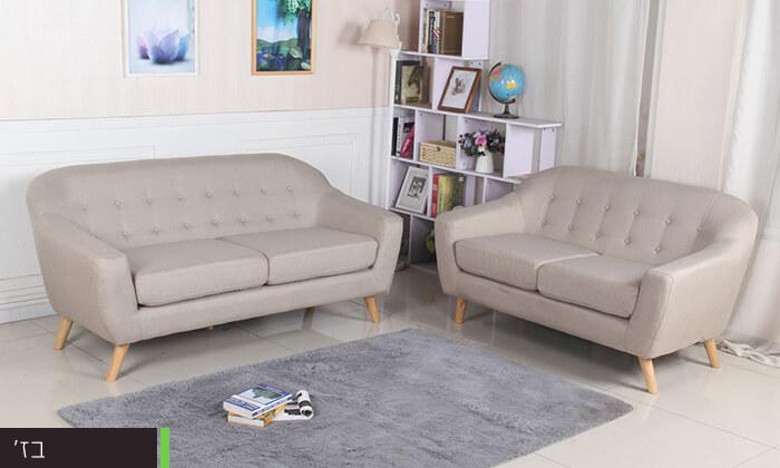 6 ספה דו ותלת מושבית