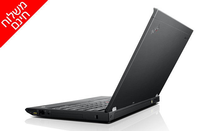 """4 מחשב נייד מחודש Lenovo דגםX230 עם מסך """"12.5, מעבד i5 וזיכרון 8GB - משלוח חינם"""