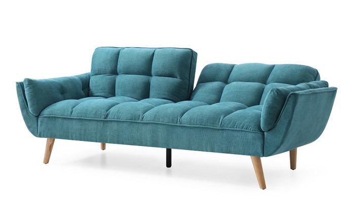 4 ספה תלת מושבית נפתחת למיטה - צבעים לבחירה