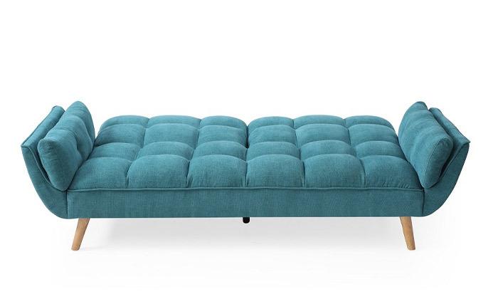 5 ספה תלת מושבית נפתחת למיטה - צבעים לבחירה