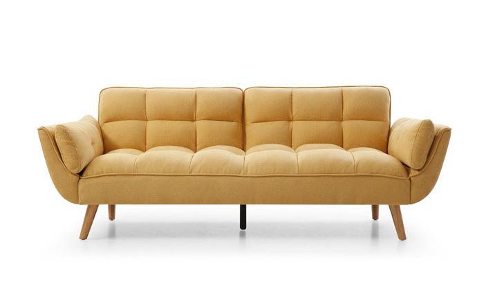 7 ספה תלת מושבית נפתחת למיטה - צבעים לבחירה
