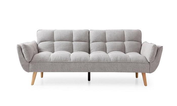 17 ספה תלת מושבית נפתחת למיטה - צבעים לבחירה