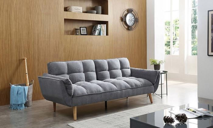 18 ספה תלת מושבית נפתחת למיטה - צבעים לבחירה