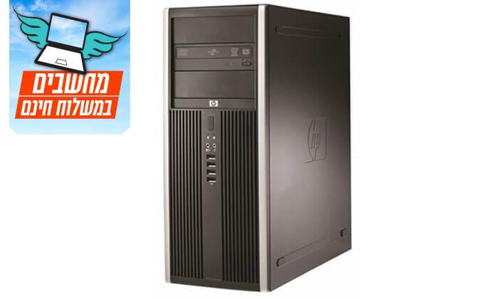 3 מחשב נייח HP עם מעבד CORE2DUO - משלוח חינם