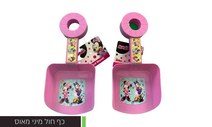 7 3 אביזרי בריכה וים לילדים לבחירה:משקפת פלסטיק, מצופיםוכף חול