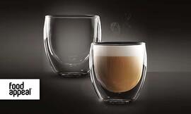 סט 2 כוסות זכוכית Food Appeal