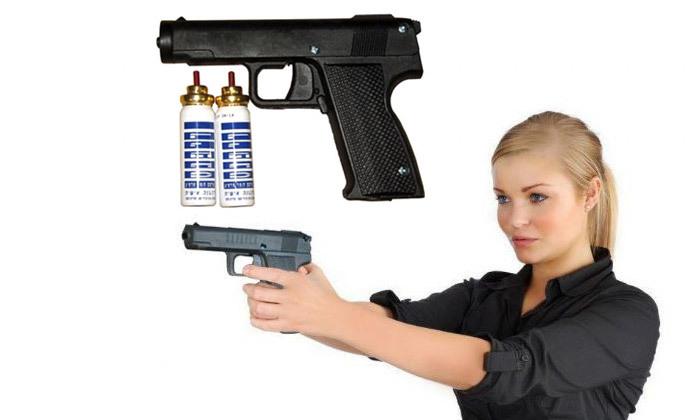 2 אקדח גז מדמיעעם 2 מחסניות ואופציה לנרתיק