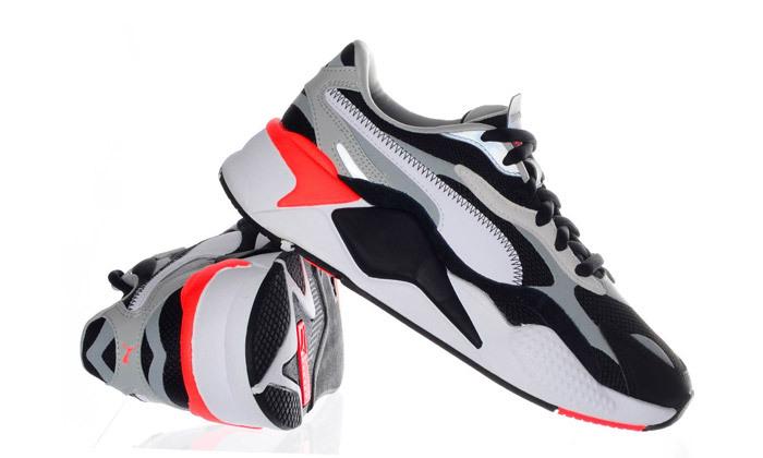 2 נעליים לנשים פומה PUMA, דגם RS-X3 PUZZLE