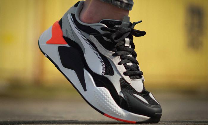 4 נעליים לנשים פומה PUMA, דגם RS-X3 PUZZLE