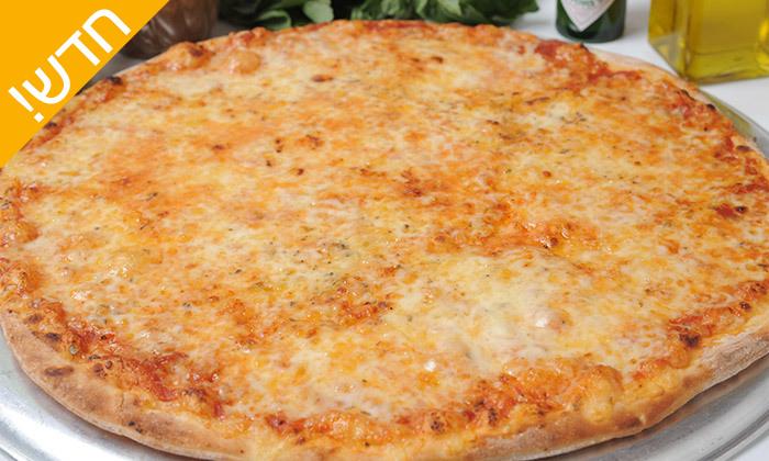 3 מגש פיצה עם תוספת ב-T.A מ'אמריקן פיצה' הכשרה בכרמיאל