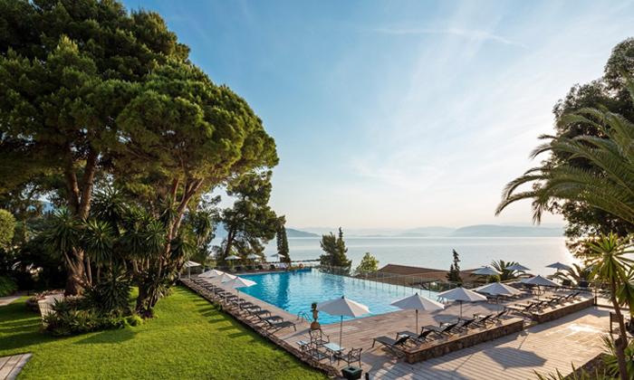 """2 חוגגים את הקיץ באי היווני קורפו: 3/5 לילות במלון 5 כוכבים, אופציה לסופ""""ש"""