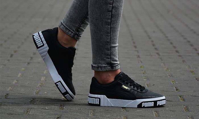 2 נעלי סניקרס לנשים פומה Puma דגם CALI - מידות לבחירה