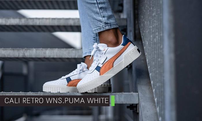 7 נעלי סניקרס לנשים פומה Puma דגם CALI - מידות לבחירה