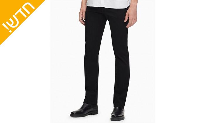 2 מכנסי ג'ינס לגברים קלווין קליין Calvin Klein בגזרת SLIM FIT