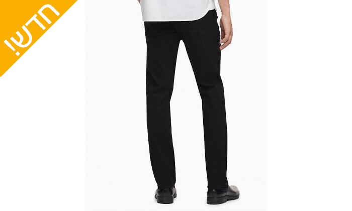 3 מכנסי ג'ינס לגברים קלווין קליין Calvin Klein בגזרת SLIM FIT