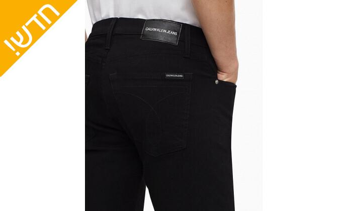 4 מכנסי ג'ינס לגברים קלווין קליין Calvin Klein בגזרת SLIM FIT