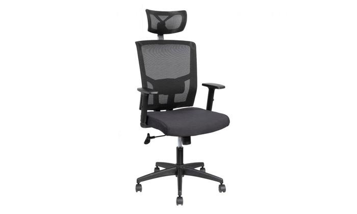 """6 ד""""ר גב: כיסא משרדי, דגם TREND"""