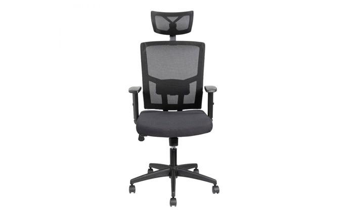 """3 ד""""ר גב: כיסא משרדי, דגם TREND"""
