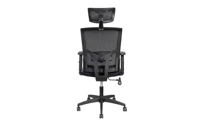 """4 ד""""ר גב: כיסא משרדי, דגם TREND"""