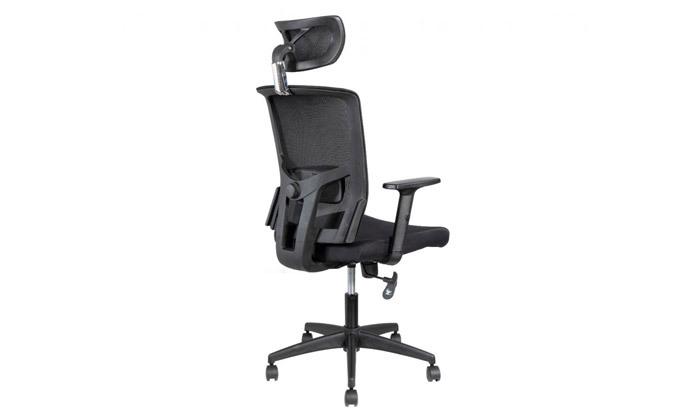 """5 ד""""ר גב: כיסא משרדי, דגם TREND"""