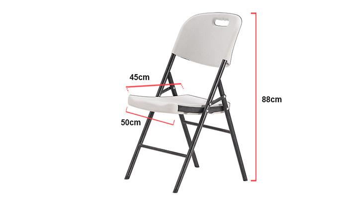 3 סט 4 כיסאות מתקפלים