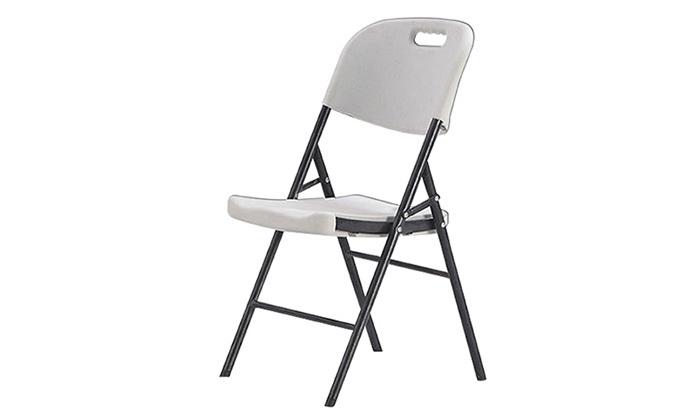 5 סט 4 כיסאות מתקפלים