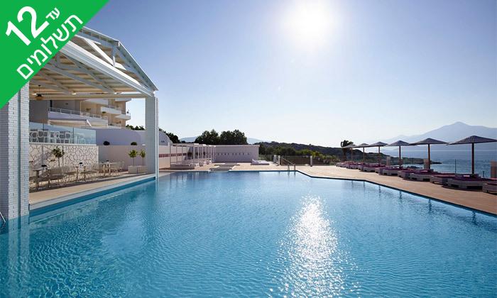 """7 נופש בסאמוס, יוון: 4/5 לילות במלון 5 כוכבים, אופציה לסופ""""ש"""