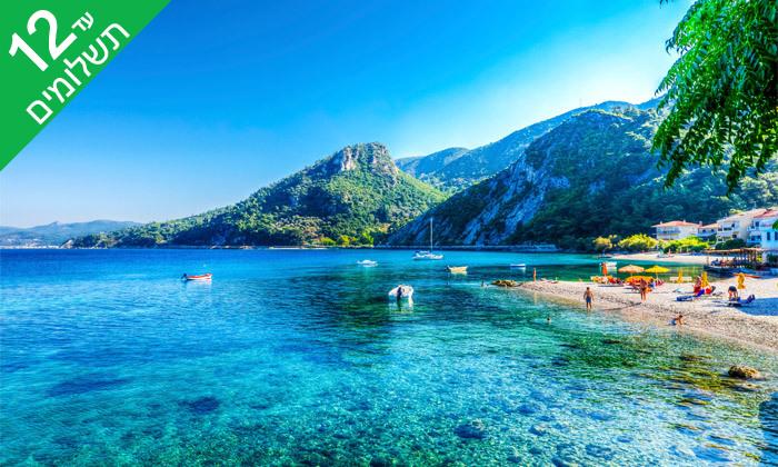 """8 נופש בסאמוס, יוון: 4/5 לילות במלון 5 כוכבים, אופציה לסופ""""ש"""