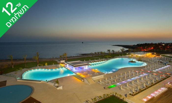 """9 קיץ הכל כלול בפאפוס - מלון עם פארק מים, כולל סופ""""ש"""