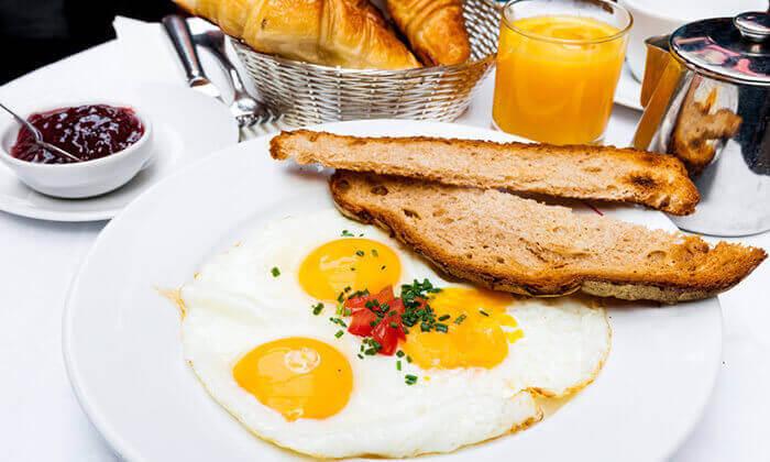 3 מסעדת תרזה ירושלים: ארוחת בוקר זוגית