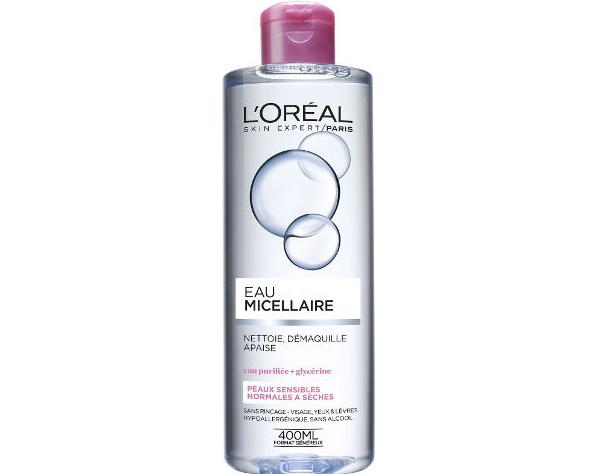 """2 מי פנים לעור רגיש 400 מ""""ל L'OREAL דגםEau Micellaire"""