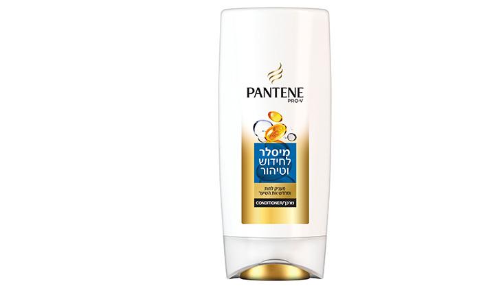 4 6 בקבוקי שמפו או מרכך פנטן פרו-וי מיסלר PANTENE