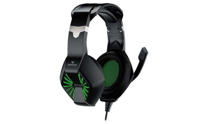 3 אוזניות גיימינג SPARKFOX דגםA1 - צבעים לבחירה