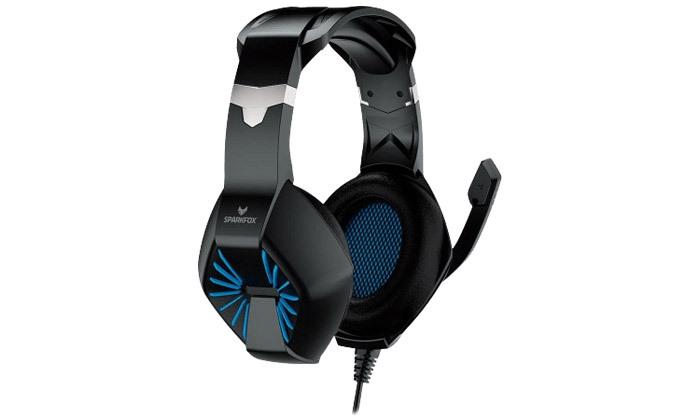 5 אוזניות גיימינג SPARKFOX דגםA1 - צבעים לבחירה