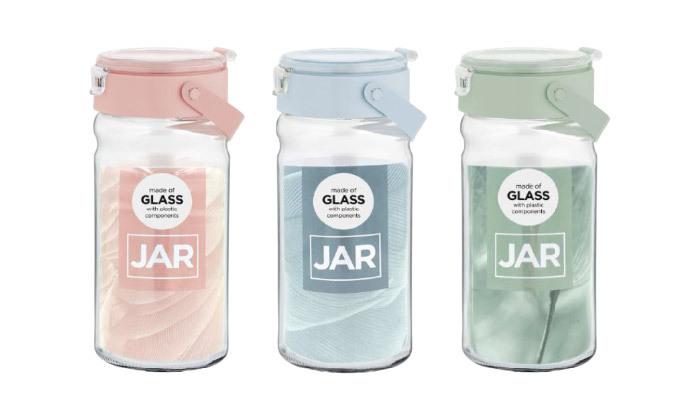 5 סט 6 צנצנות זכוכית במגוון גדלים לבחירה
