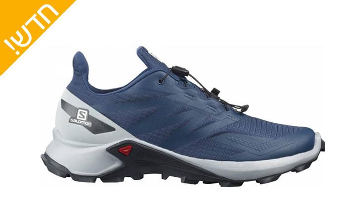 4 נעלי ריצת שטח לגברים Salomon - דגמים לבחירה