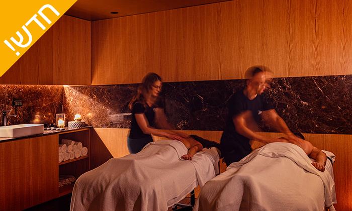 3 עיסוי זוגי במלון LIGHTHOUSE מרשת בראון, תל אביב - אופציה לארוחת בוקר