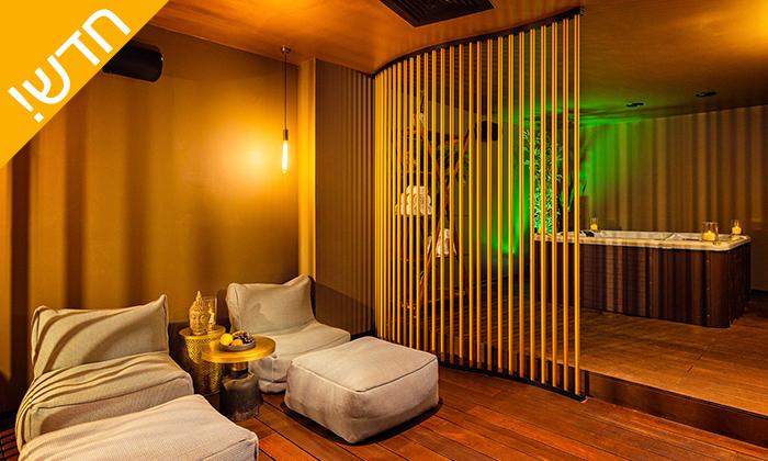 2 עיסוי זוגי במלון LIGHTHOUSE מרשת בראון, תל אביב - אופציה לארוחת בוקר