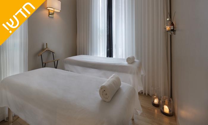 4 עיסוי זוגי במלון ביץ' האוס מרשת בראון, תל אביב - אופציה לארוחת בוקר