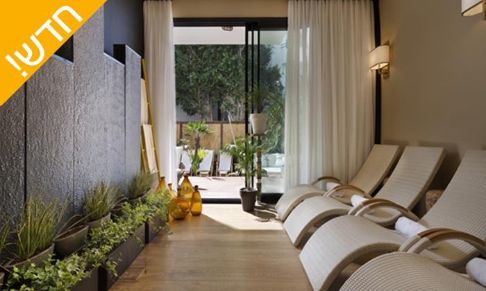 5 עיסוי זוגי במלון ביץ' האוס מרשת בראון, תל אביב - אופציה לארוחת בוקר