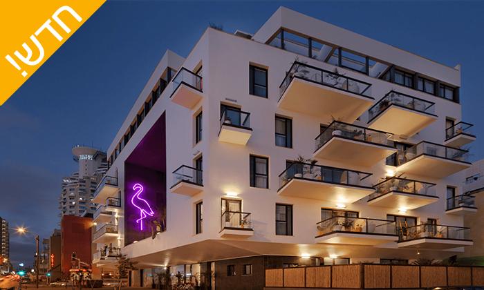 6 עיסוי זוגי במלון ביץ' האוס מרשת בראון, תל אביב - אופציה לארוחת בוקר
