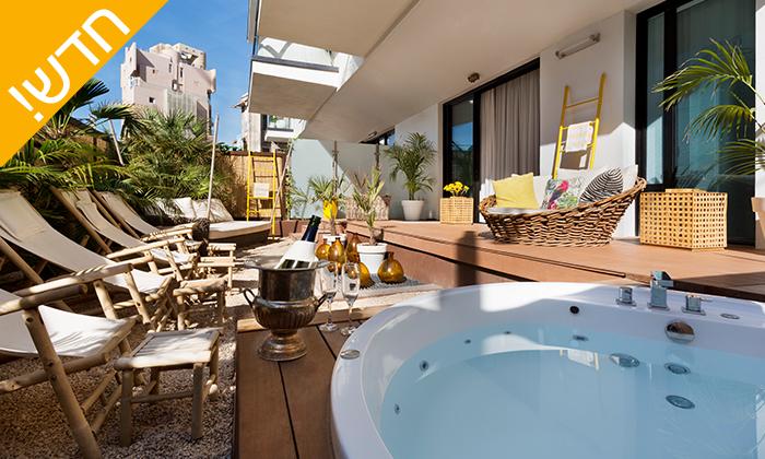 2 עיסוי זוגי במלון ביץ' האוס מרשת בראון, תל אביב - אופציה לארוחת בוקר