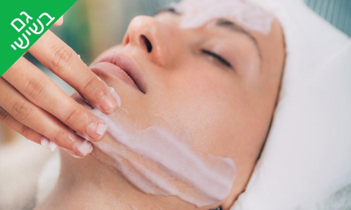 2 טיפולי פנים בקליניקת אאורה ביוטי aura beauty, קניון בת ימון