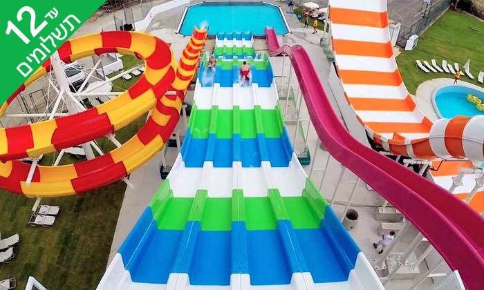 """2 פאפוס ע""""ב הכל כלול במלון Leonardo Cypris Bay עם כניסה לפארק מים"""