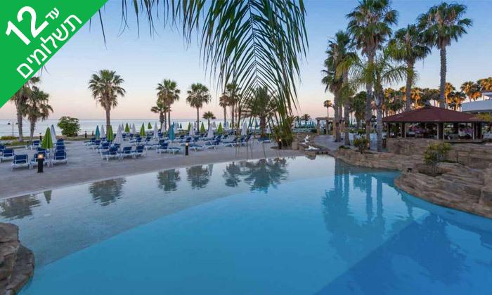 """4 פאפוס ע""""ב הכל כלול במלון Leonardo Cypris Bay עם כניסה לפארק מים"""