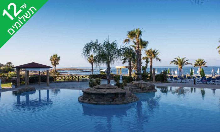 """5 פאפוס ע""""ב הכל כלול במלון Leonardo Cypris Bay עם כניסה לפארק מים"""